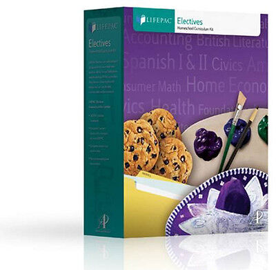 Lifepac Home Economics Family   Consumer Science Complete Set