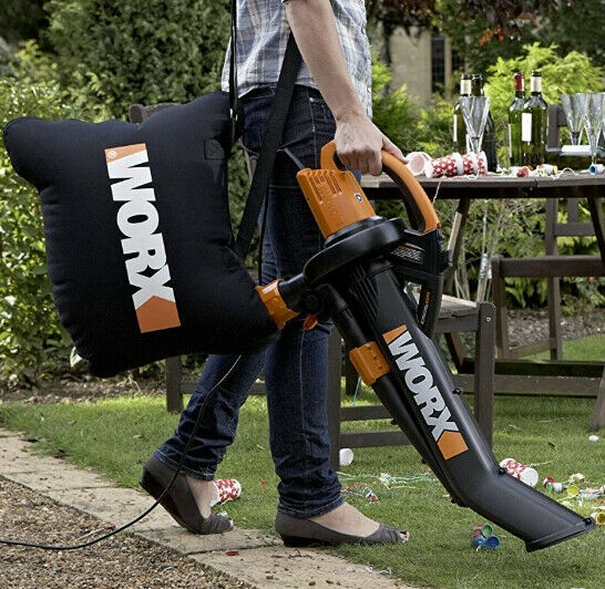 Worx Trivac Collection Lightweight S Blower Mulcher And Vacu