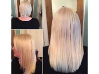 Mobile hair extension fitter and hair supplier