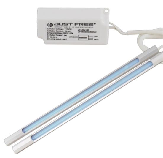Bio-Fighter Dust Free Mini Split Dual-Lamp 120V UV Light Kit