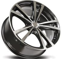 "18"" black machined rims 5 x 100 / 114.3 Specials Starting  $149"