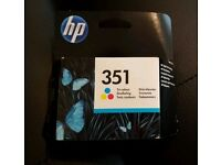 351 genuine HP tri colour ink cartridge expired