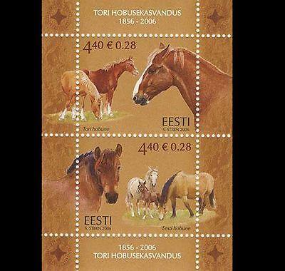 2006 ESTONIA -  TORI STUD ANNIVERSARY  M/S SG 526 UNMOUNTED MINT M/S