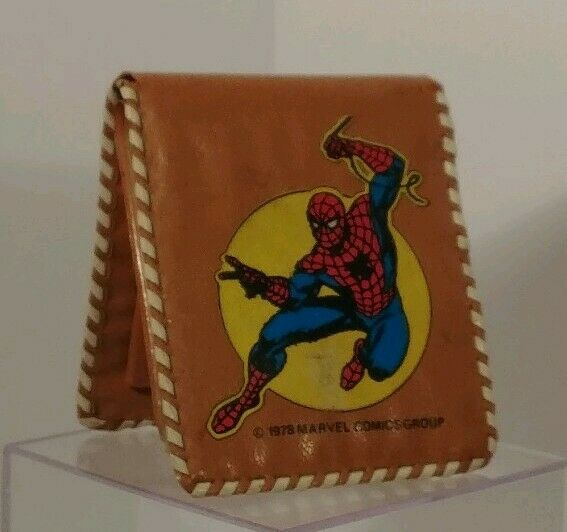Spider Man vintage 1978 Kids vinyl bi-fold wallet