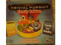 Trivial Pursuit Family Edition NEW