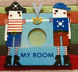 Gisela Graham Nautical pirate themed photo frame.