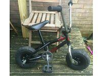 Mini rocker bmx stunt bike. Not mountain bike