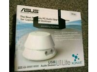 New Asus xonar u1 lite portable audio station