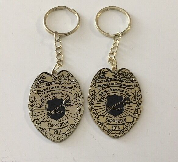 National Law enforcement officers Memorial Fund Key Chain 2015/2016