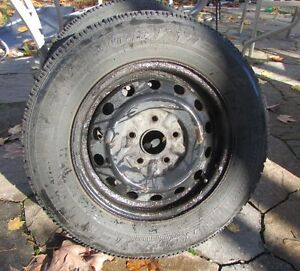 Winter tires with Rims   195/70/14