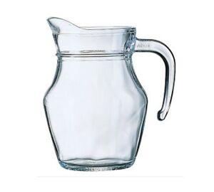Luminarc Small Classic Glass Jug Water Milk Juice Table Serving Jug 0.5L