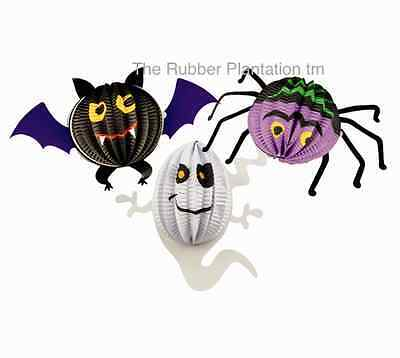 Halloween Ceiling Decorations (3D CEILING DECORATIONS HALLOWEEN SPOOKY DECORATION PROP BAT SPIDER GHOST 3)