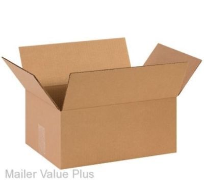 100 - 14 X 10 X 6 Corrugated Shipping Boxes Packing Storage Carton Cardboard Box