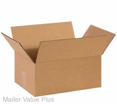 25 - 14 X 10 X 6 Shipping Boxes Packing Moving Storage Cartons Mailing Box