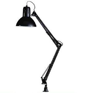 Flexo arquitecto con pinza para escritorio color negro lampara despacho ebay - Flexo escritorio ...
