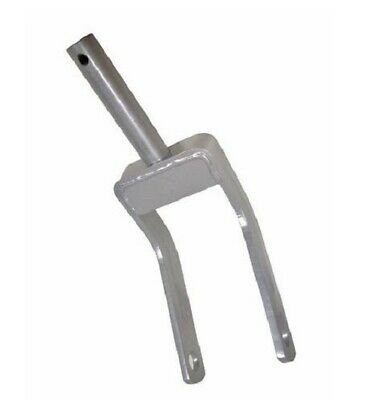 Rotary Cutter Tail-wheel Fork 1-12 Post 1 Axle 6-12 Post