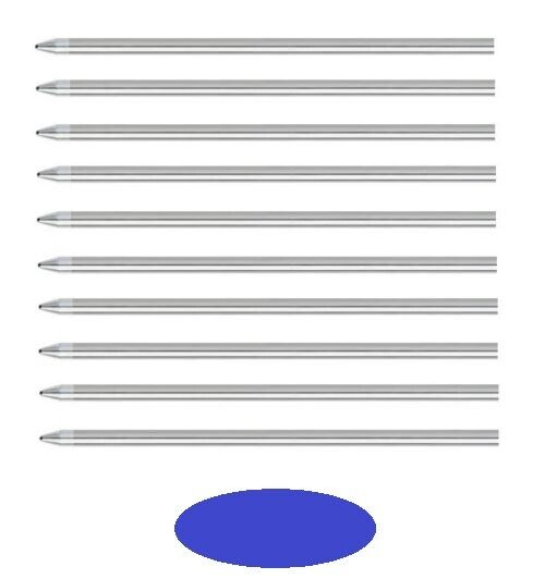 10 – Rotring Tikky 3-In-1 Multi-Functional Pen Refills – BLUE MEDIUM Collectibles