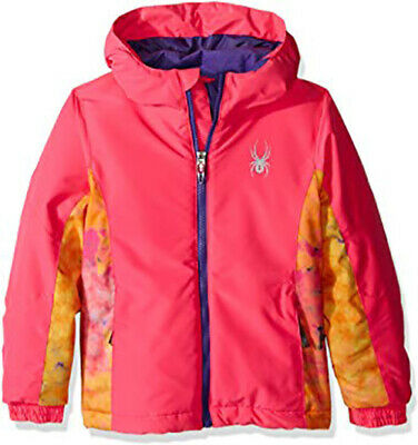 NEW Spyder Kids Bitsy Charm Snow Ski Snowboarding Jacket Size 6 Girls, NWT