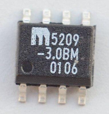 Lot 2 Micrel Mic5209-3.0bm 3.0v Voltage Regulator So8 1 500ma