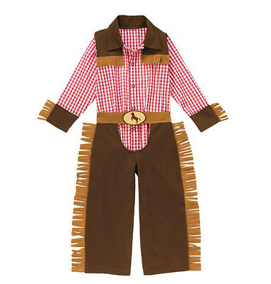 Gymboree JUNIOR BUCKAROO Cowboy Costume Boys S (5-6) NEW!