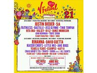 V Festival Weekend Camping (Weston Park) tickets x2
