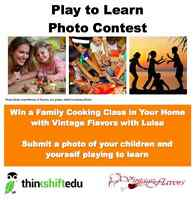 PLAY to LEARN Photo Contest