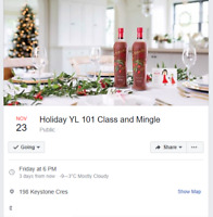 Young Living 101 class & holiday mingle - Free