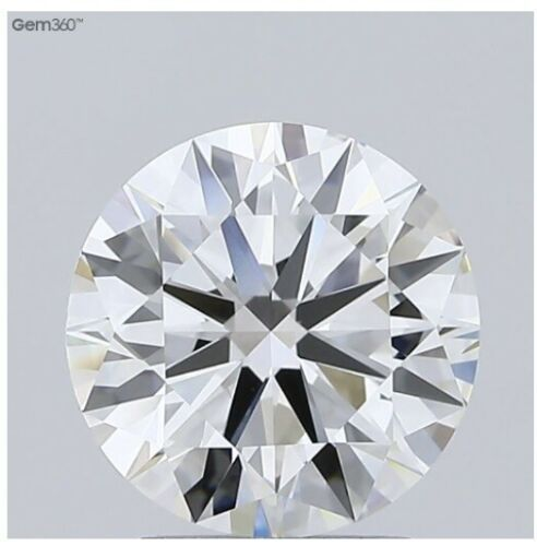 2.20 Ct IGI Certified Lab Grown Loose Diamond H color VS2 Clarity Round Cut