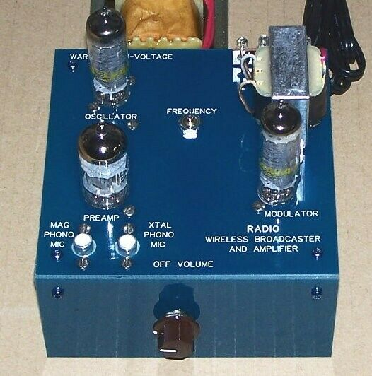 UNBUILT KIT - vintage vacuum tube Knight RADIO BROADCASTER & AMPLIFIER repro set