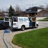 Super Steam CARPET CLEANING & DUCT CLEANING LICENSED and Insured
