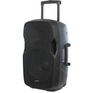 """Gemini AS-12TOGO 12"""" Active Portable Bluetooth Loudspeaker with Rechargeable Battery"""