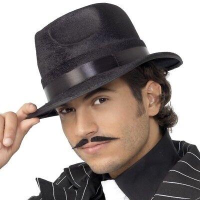 20s 1920s Jahre unzerstörbar Fedora Kostüm Hut langlebig Gangster Mütze von