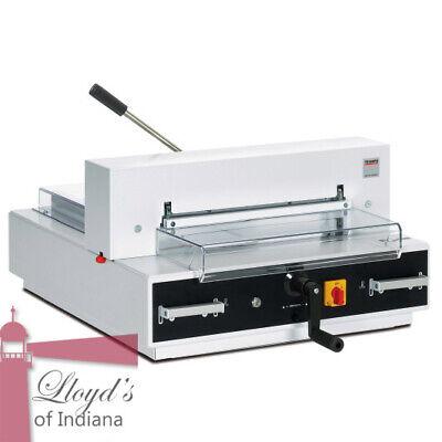 Mbm Triumph 4315 Semi-automatic 16 78 Inch Paper Cutter