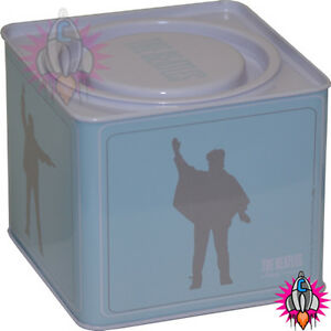 NEW-OFFICIAL-THE-BEATLES-HELP-BLUE-STORAGE-CONTAINER-TIN-TEA-COFFEE-SUGAR-BOX