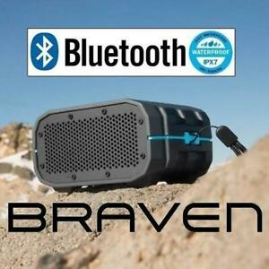 REFURB BRAVEN BLUETOOTH SPEAKER BRV-1 248810149 PORTABLE HD BLUETOOTH WIRELESS SPEAKER REFURBISHED