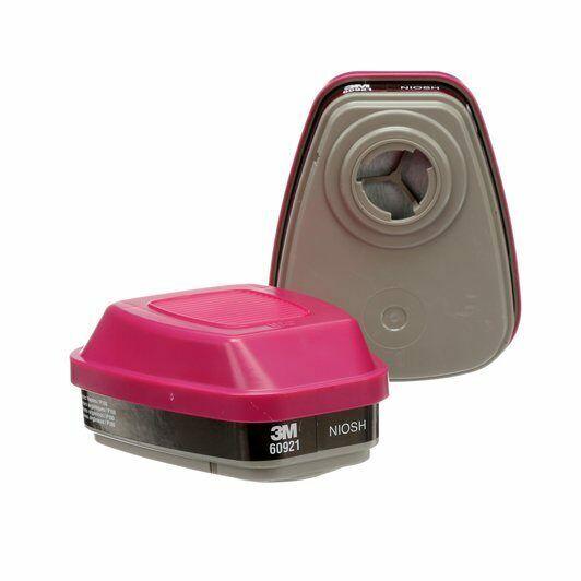 3M 60921 Organic Vapor/P1OO Combo Cartridge/Filter,1 Package of 2 Cartridges Business & Industrial