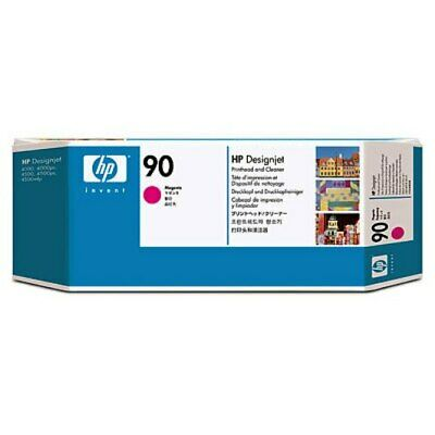 ORIGINAL & BOXED 2016 HP90 MAGENTA / C5056A PRINTHEAD & CLEANER - SWIFTLY POSTED