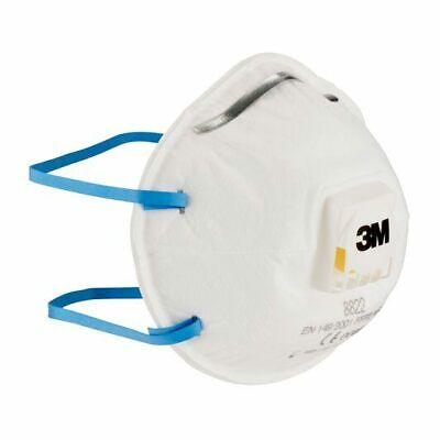 3M™ 8822 FFP2 Arbeits-/ Mundschutzmaske mit Cool Flow™ Ventil und Nasenbügel