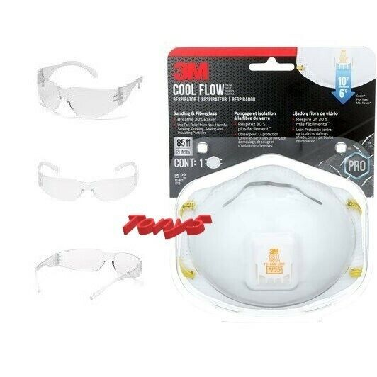 3m project safety kit with Intruder Safety Glasses