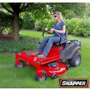 """USED*SNAPPER ZERO TURN RIDING MOWER - 130058018 - 46"""" CUTTER 20 HP MOTOR MOWERS MOWING LAWNS LANDSCAPING GRASS CUTTER..."""