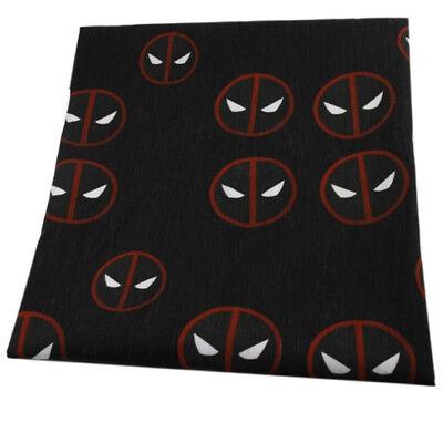 Deadpool Fabric (FABRIC DEADPOOL ANTI HERO SUPER HERO PRINT POLYCOTTON BLEND 50 X)