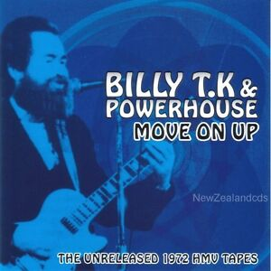 Billy TK (Human Instinct) & Powerhouse cd unissued 1972 album New Zealand Psych