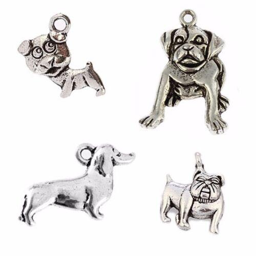 15//60PCS Tibetan Silver Celtic Knot Charms Pendants Fit Crafts Necklace 20*17MM