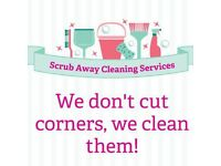 Scrub Away Cleaning Services - Competitive rates - Lanarkshire based - No job too big or small!