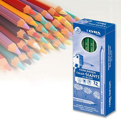 Buntstifte Lyra Farbriesen lackiert, 12 Stk. pro Farbe, freie Farbwahl