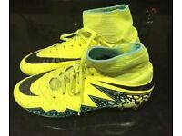 Nike Junior Hypervenom Football 'Sock' Boots UK Size 4 Moulded Studs