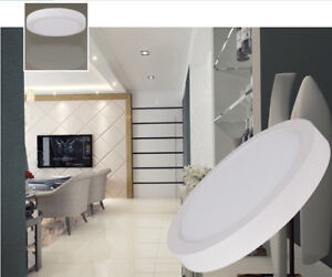 "Round Panel LED Light ( 5.5"" - 7"" -  9"" - 12"" ) UL Dimmable"