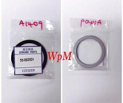 Citizen AT2242-55E Mens Axiom Eco-Drive Gold Watch Glass Black Border 55-002931 ()