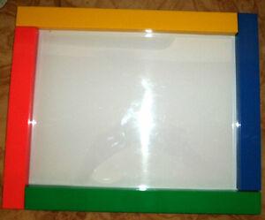 Re-usable Plastic Frame for Children's Art
