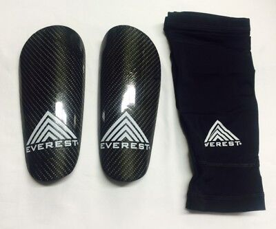 Best Shin Guards - Everest Carbon fiber Shin Guard, Best Soccer Equipment Leg Guard, Size S, M & L